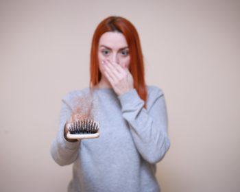 shedding ou perte de cheveux